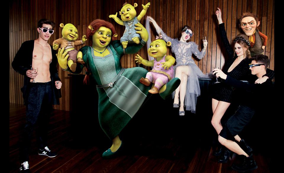 фотографы модели мода fashion story fashion  Мультипликационные персонажи в мире моды.
