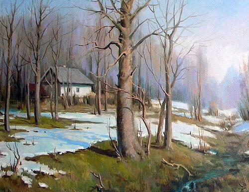 Весна в живописи часть 2