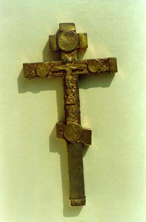 Крест напрестольный (16 век) Москва.