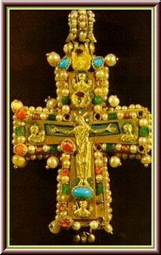 Крест из Мартвили Хв.