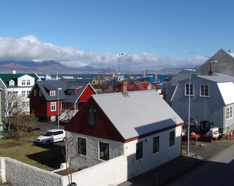 Reykjavik and eruption