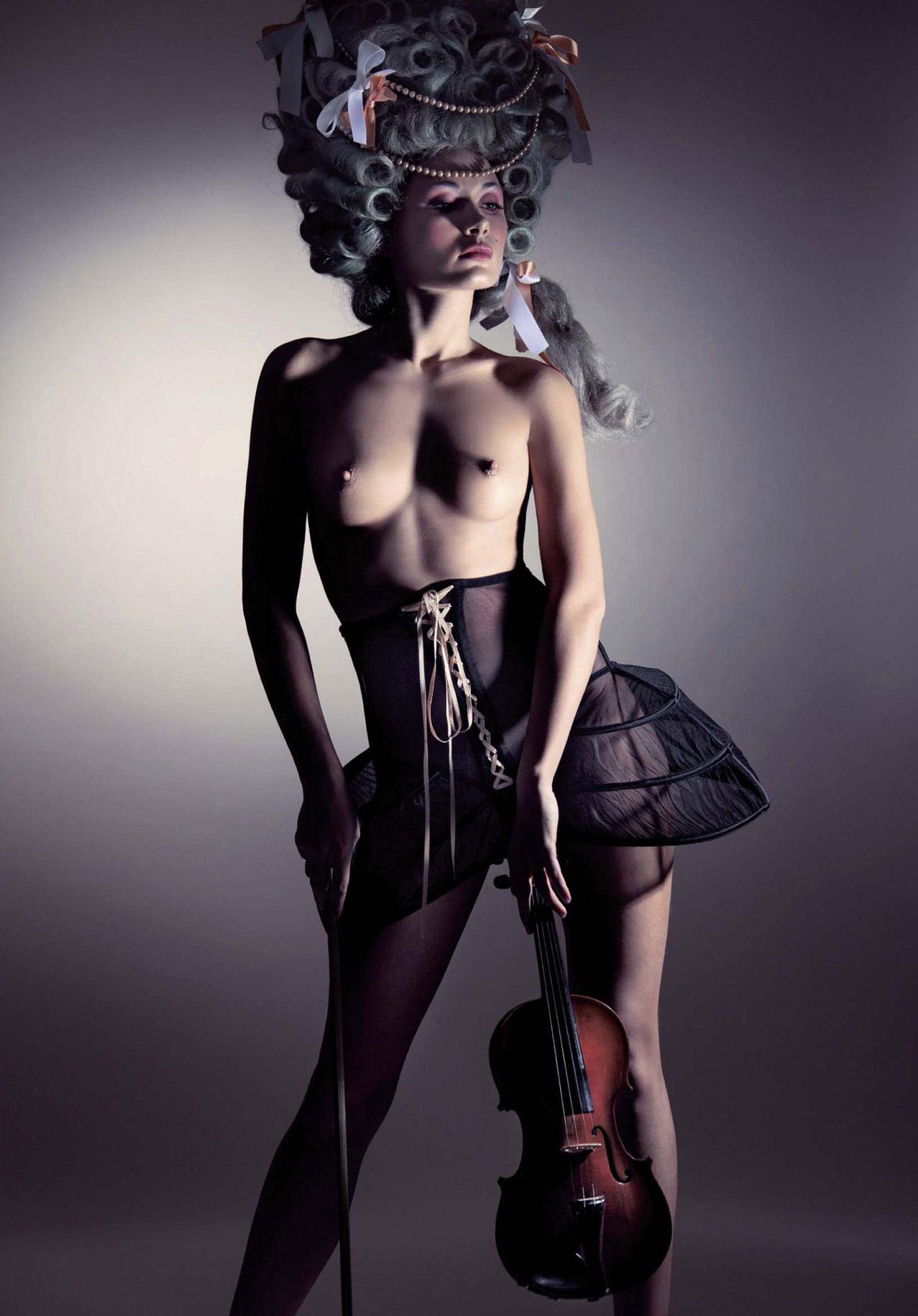 Анна Григоренко / Anna Grigorenko by Davide Esposito in Playboy France