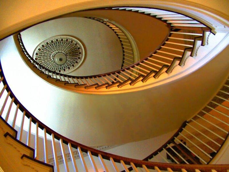 волшебные лестницы,by Laszlo Hopp