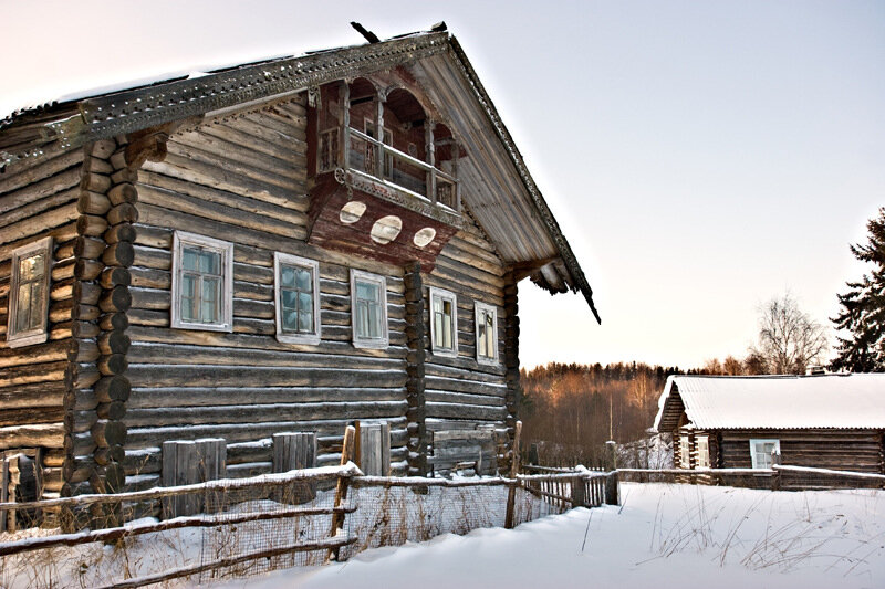 Заброшенный дом в Павшойле