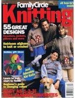 Журнал Family Circle Knitting 1996 Fall