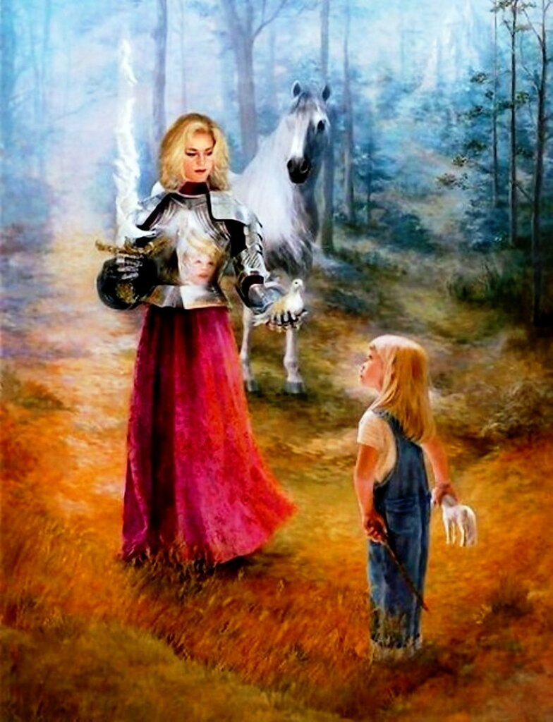 Художница Линн Лупетти. Мир сказки... (23).jpg