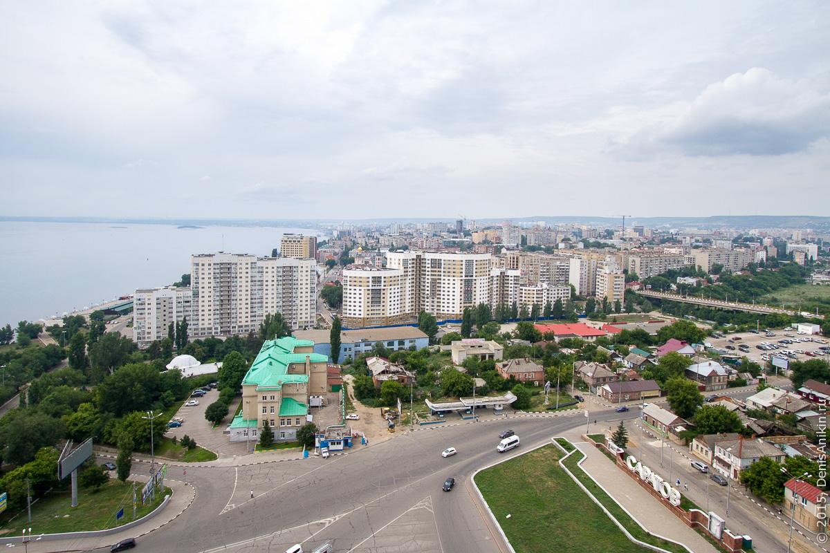 Саратов панорама крыша 19