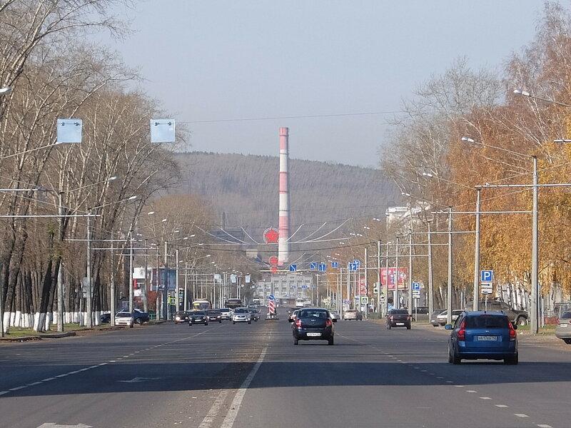 Новокузнецк - Проспект Курако - Звезды