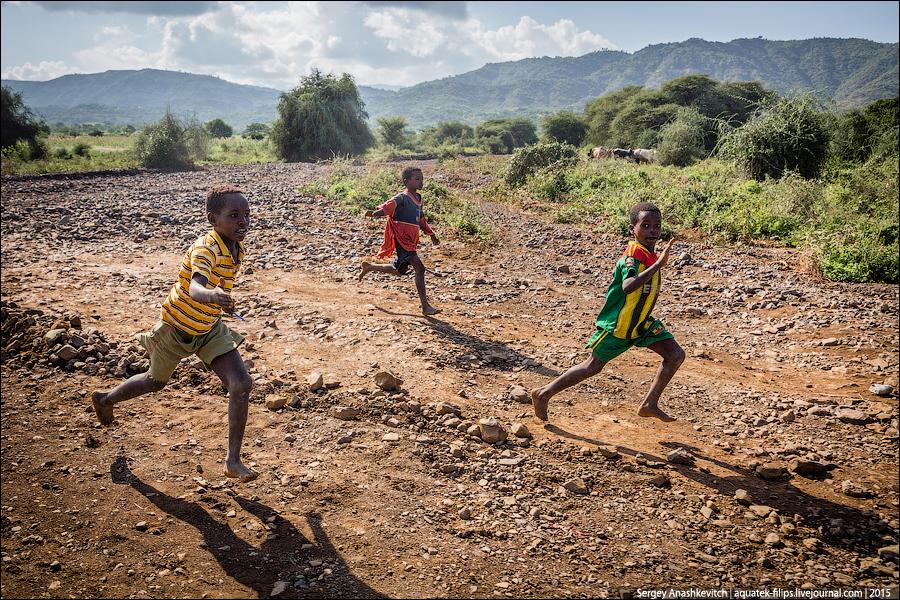 Африканские попрошайки
