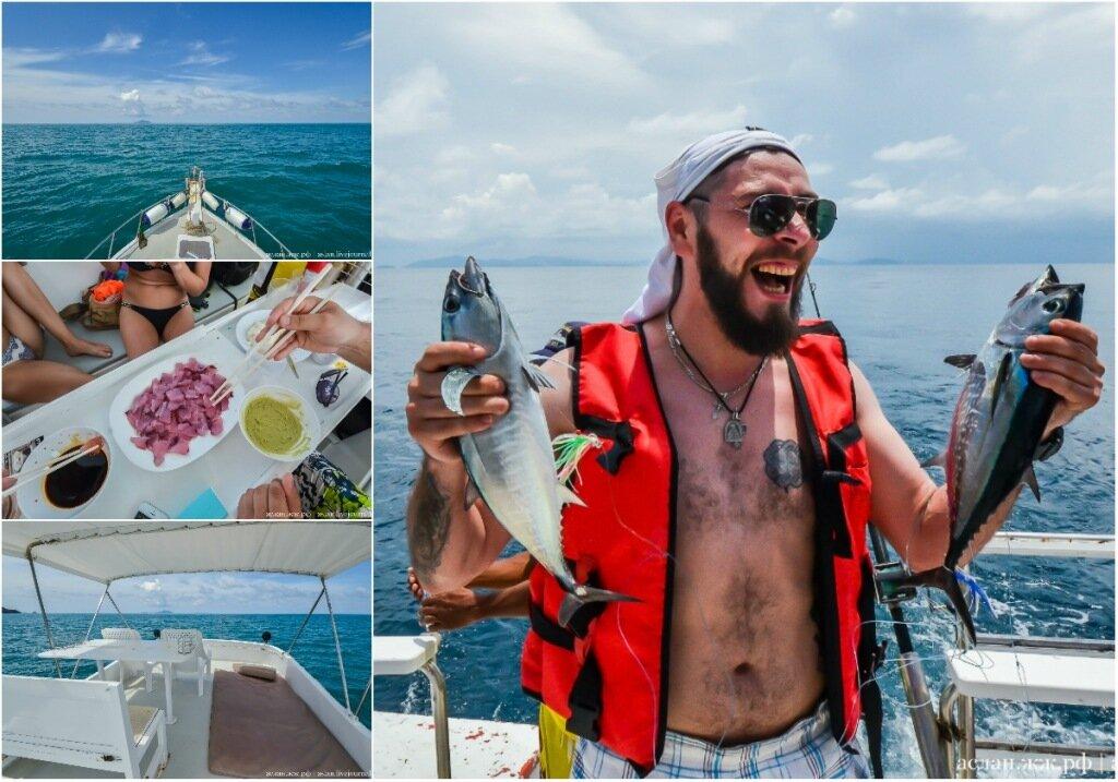 Как русские и украинцы ловили тунца в Андаманском море