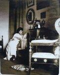Мария Михайловна Алфераки (по-домашнему - Майя) в своей комнате. Петербург