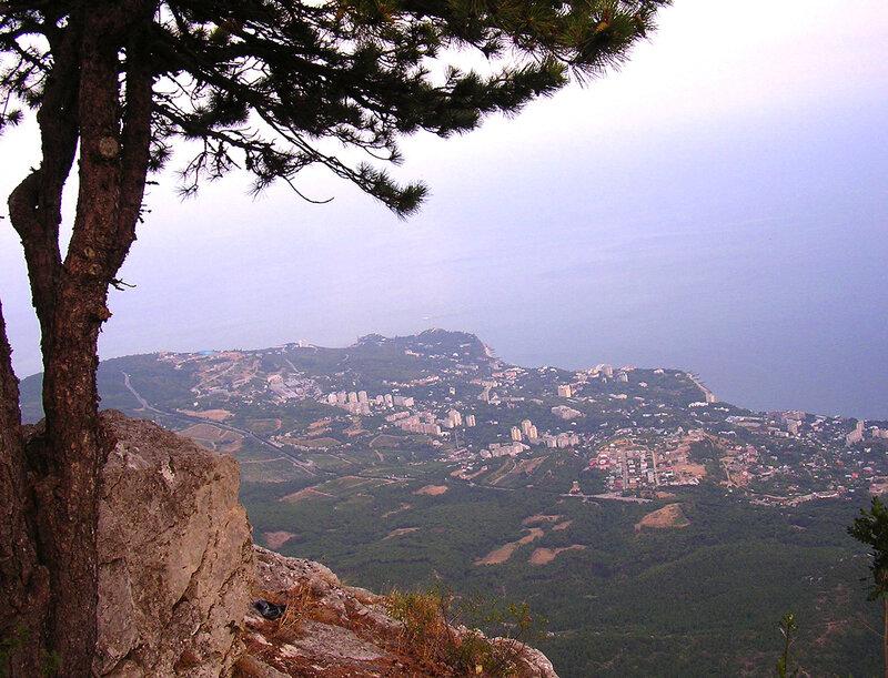 Смотровая площадка Ай-Петри, 1234 м, Панорама Мисхора