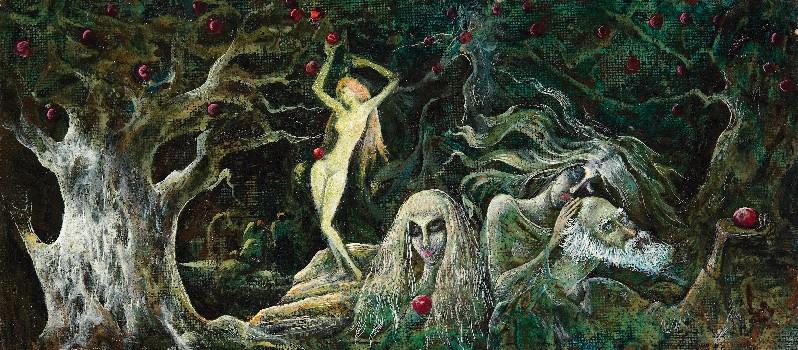 Гиви Сипрошвили, В старом яблоневом саду