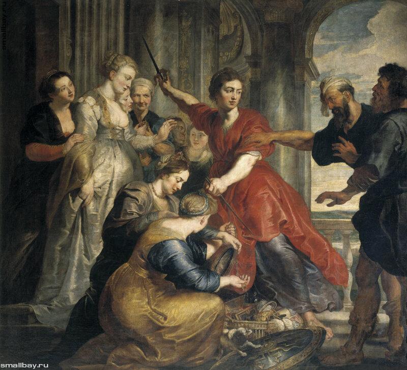 Рубенс Питер Пауль, Ахилл, Одиссей и Диомед1617