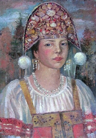 Андреевский, Красавица в кокошнике