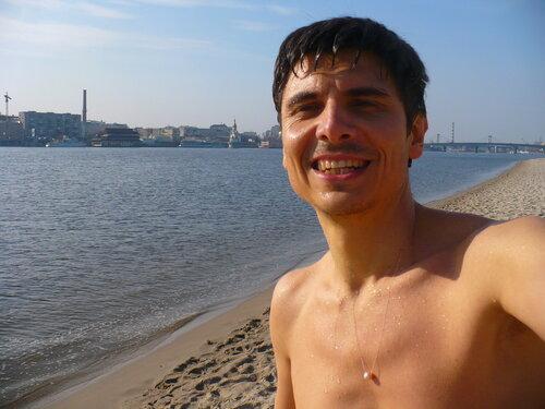 Ходил на Труханов остров. Киев, 30 мар 2010