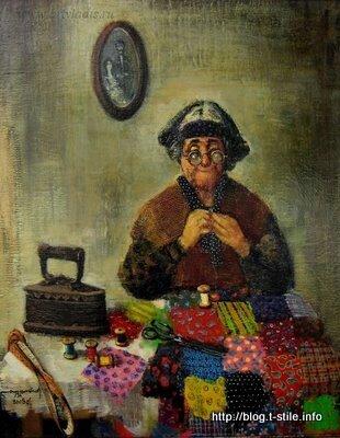 """Lado Tevdoradze """"Бабушка"""""""