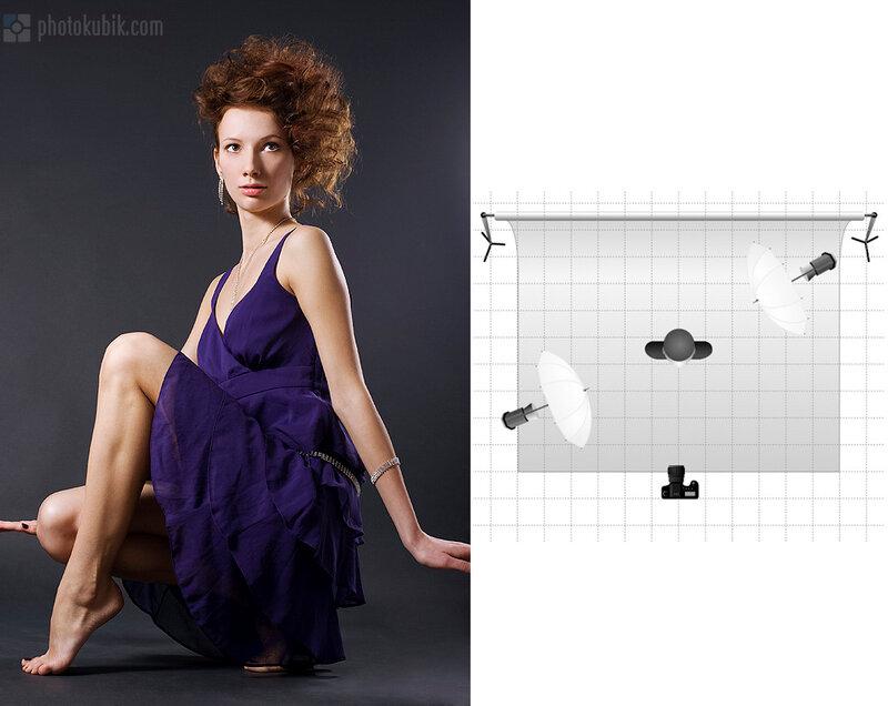 показать фото журавель с октобоксом схемы освещения