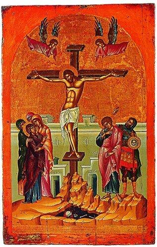 РАСПЯТИЕ ХРИСТОВО 16 в.