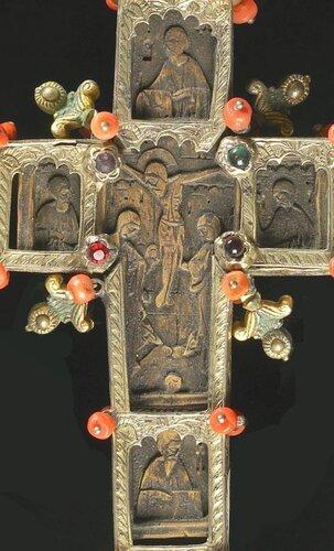 Blessing Cr Греция, 18 в. 23 x 8.2 cm 11 x 9 ФРАГМЕНТ РЕВЕРС