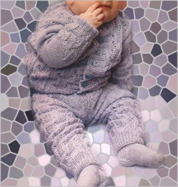 штанишки малышкам спицами с описанием - Выкройки одежды для детей и...