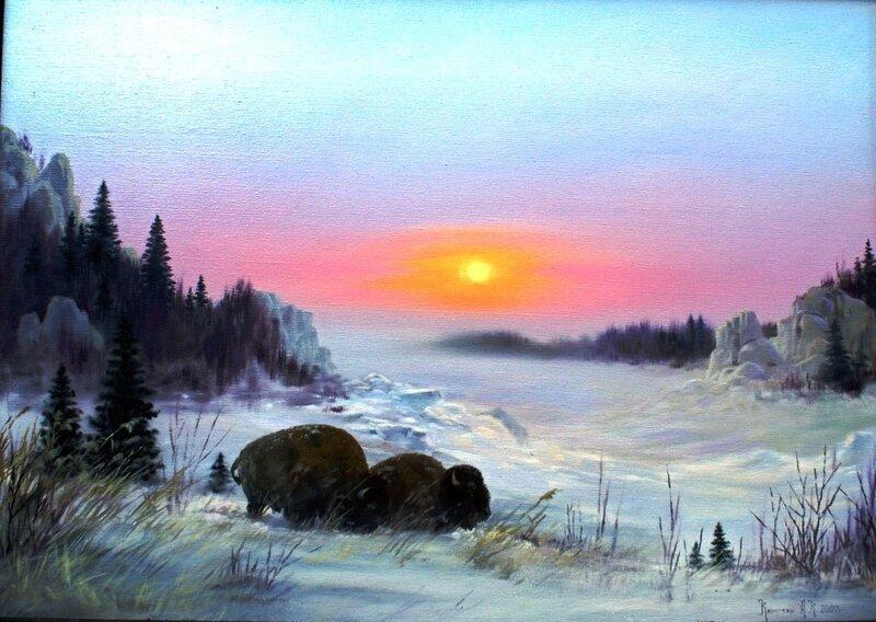 Картины художника Алексея Капустяна (54)