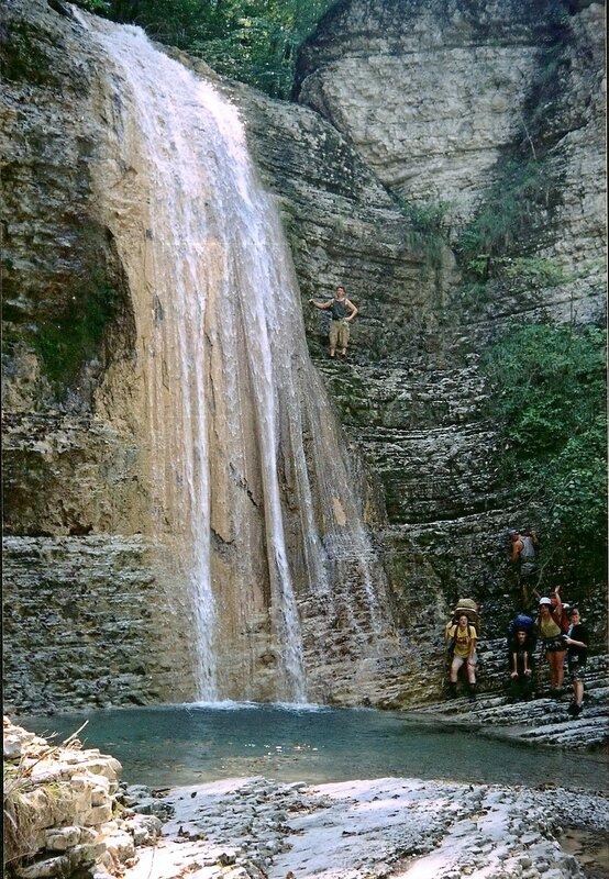 2001 год. Полковничьи водопады..jpg