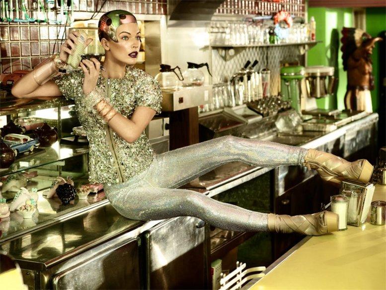 Милла Йовович / Milla Jovovich by Simon Upton