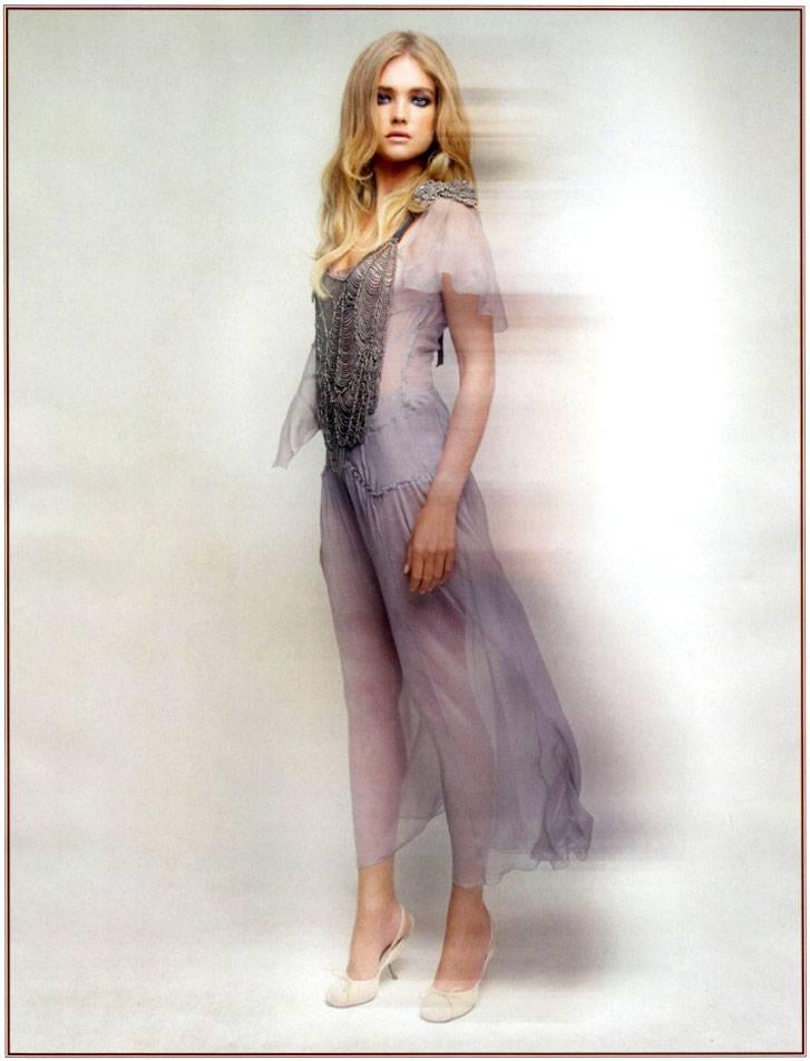 Наталья Водянова / Natalia Vodianova by Patrick Demarchelier in Dream Girl