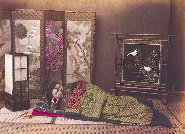 Спящие новобрачные