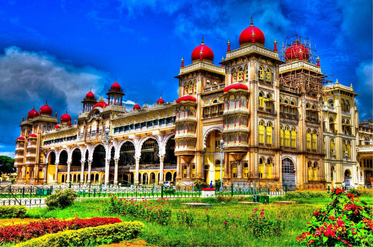 Майсурский дворец в Индии