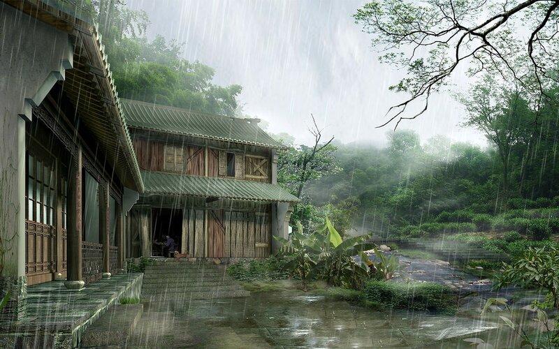 Красивые китайские пейзажи. Фотографии природы Китая, похожей на картины 0 1c4d49 c4305545 XL