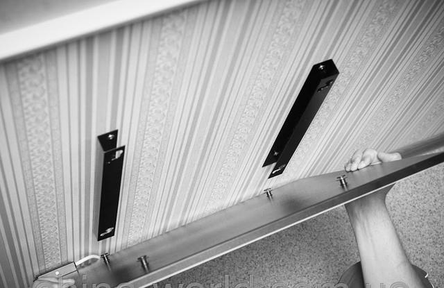 монтаж керамических панелей отопления на стену, фото_7