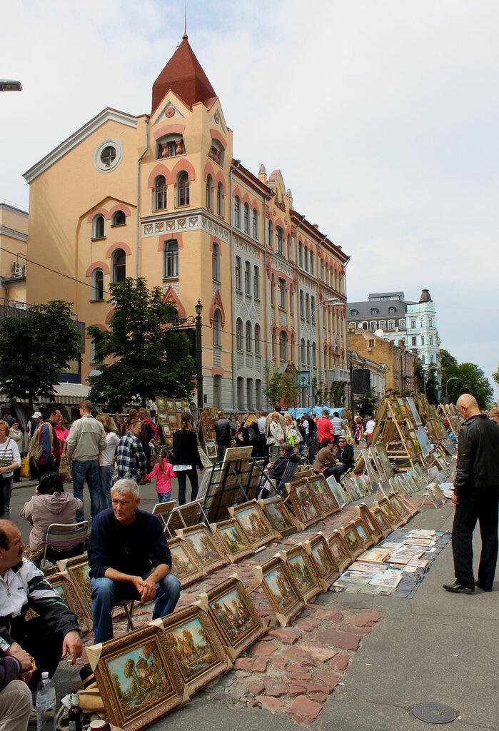 Выставка живописи на Владимирской