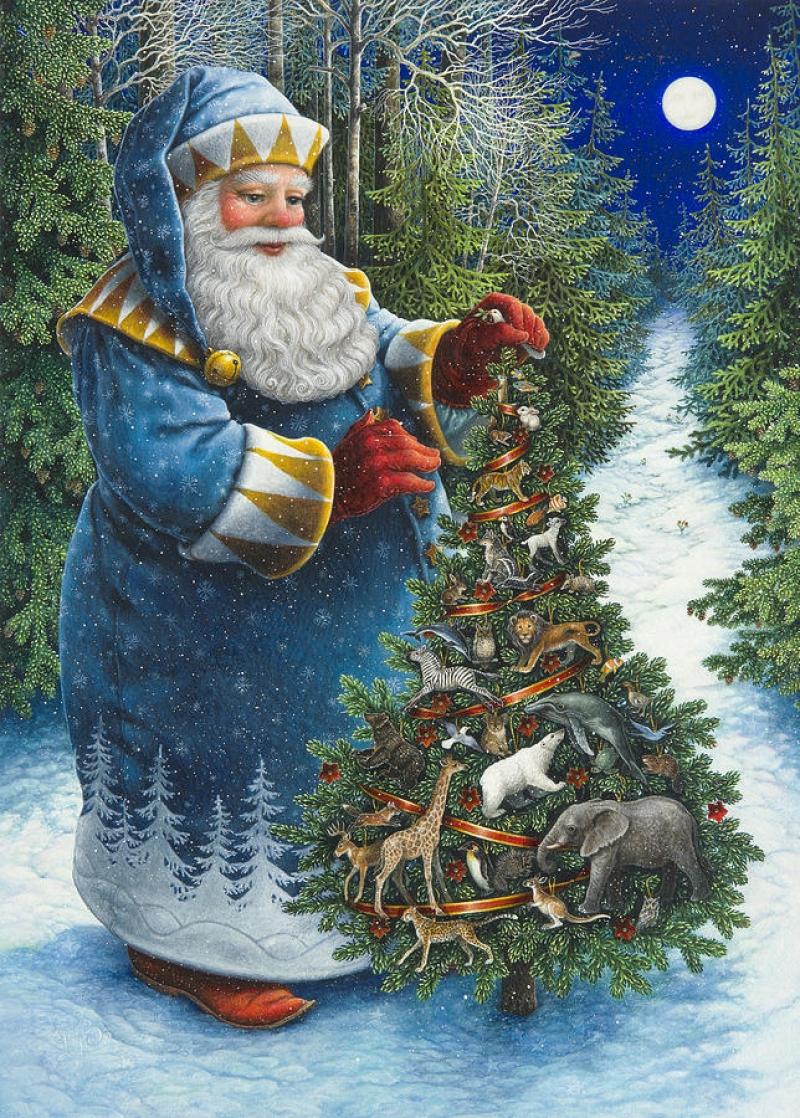 Рождественская елка Санты