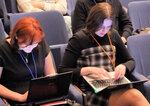 eTarget-2010, журналистки за работой