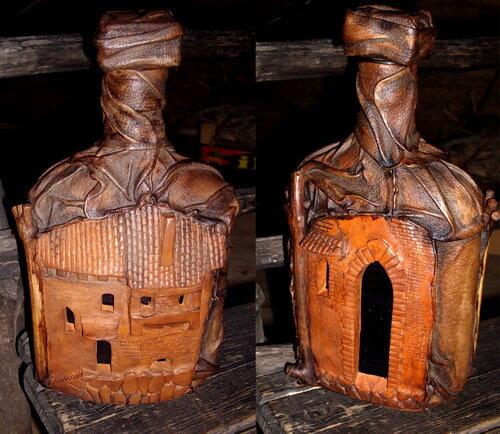 бутылки керамика хендмейд
