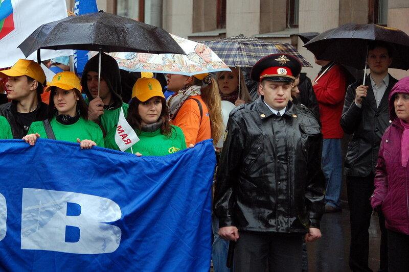 Первомайская демонстрация в Москве