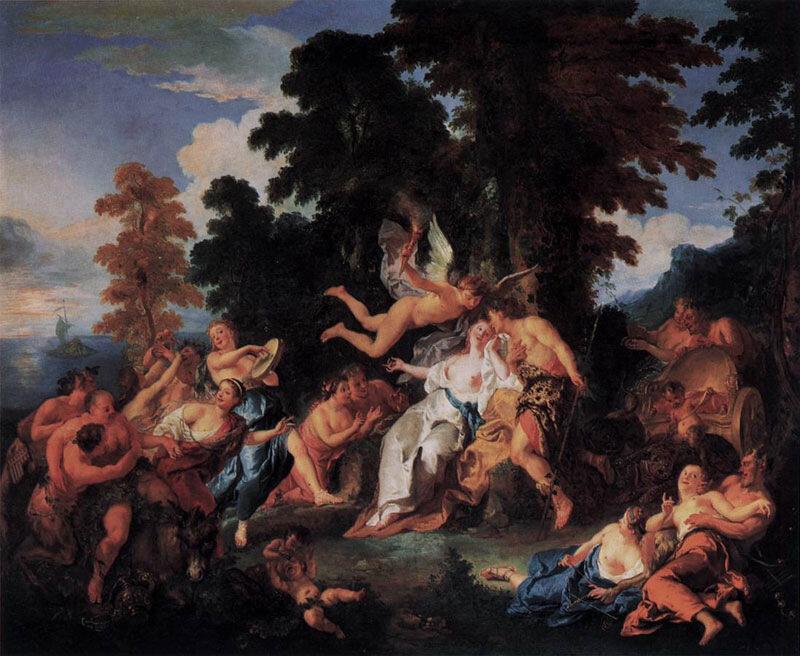 Жан Франсуа де Труа, ок. 1717 г, Вакх и Ариадна