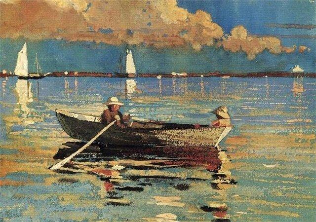 У.Хомер Рыбак 1874 г.