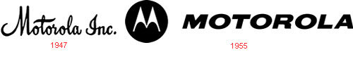 motorola logo evolution