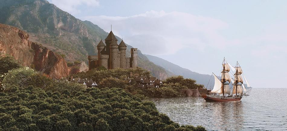 Castle Rock Bay