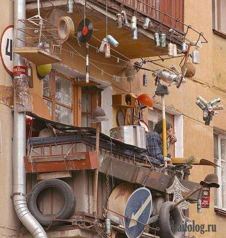 Фото балкона из Сети