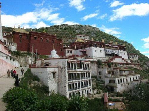 Монастырь Ганден, Лхаса. Тибет