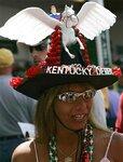 Сумасшедшие шляпки на Дерби Кентакки / Wild Hats at the Kentucky Derby