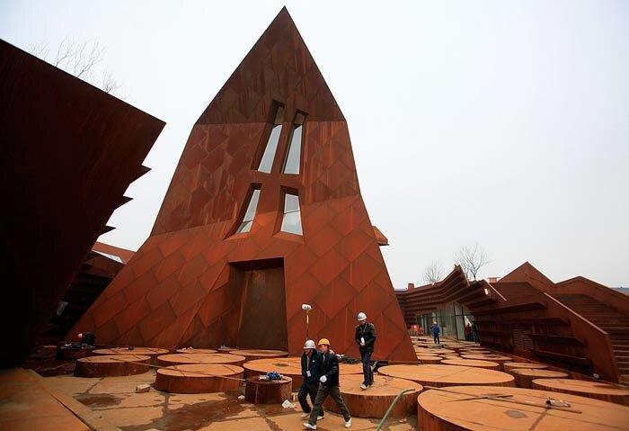 1 мая в Шанхае открывается выставка ЭКСПО-2010 (31 ФОТО)