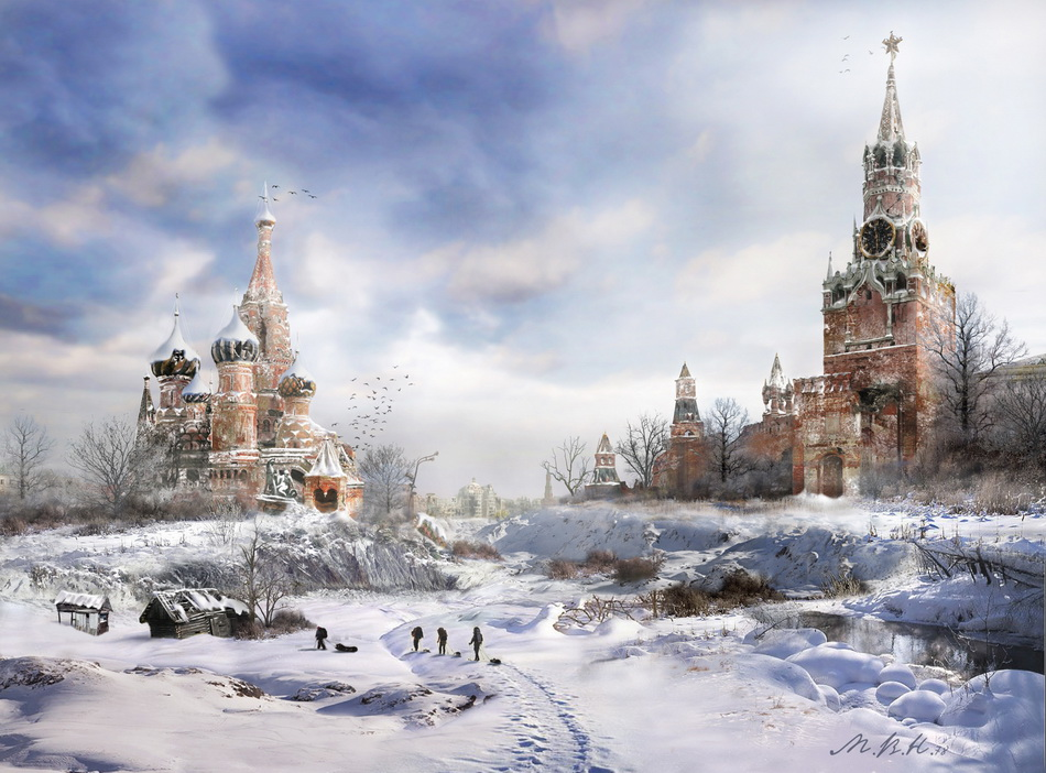 Moscow after the apocalipse