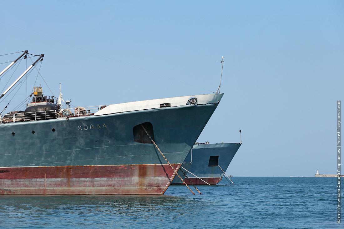 носы кораблей