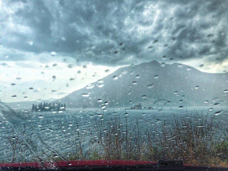 Пераст в дождь
