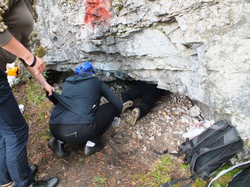Первое покорение пещеры, ине только уменя